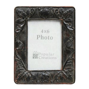 Faux Wood Carved Frame