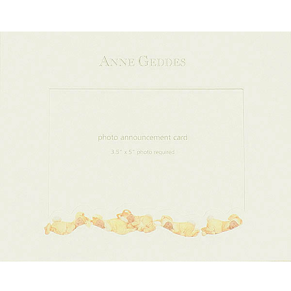 Greeting Card - Birth Anne Geddes