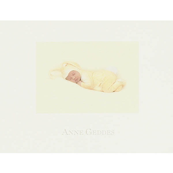 Greeting Card - Thank You Anne Geddes