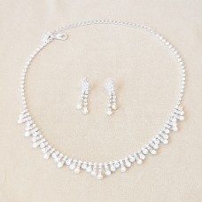 Jewel Set - Camila Clear and AB Rhinestone