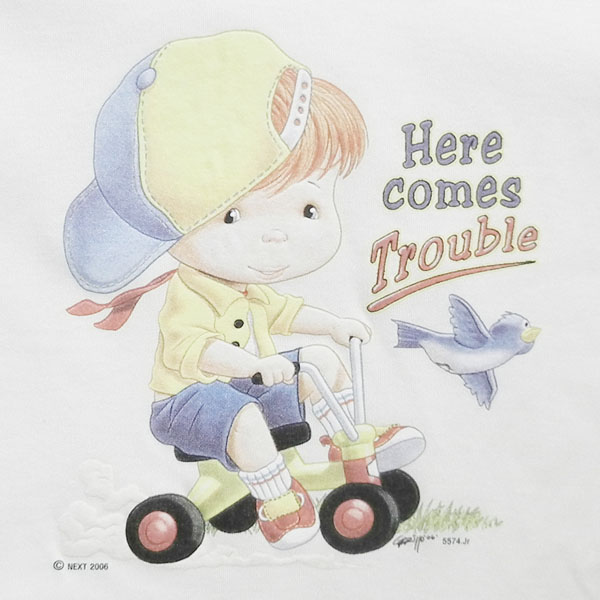 T-shirt - Here Comes Trouble