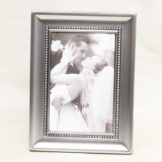 Home Accents - Frame - Brushed Pewter With Beaded