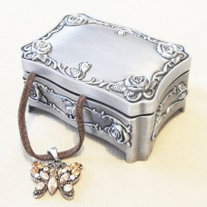 Pewter Engravable Keepsake Box