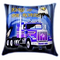 Glow-in-the-dark Pillow - King Of The Roads