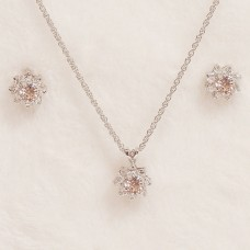 Floral Rose Jewel Set - Tiffany Fashion Jewellery