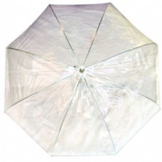 Clear White Dome Umbrella