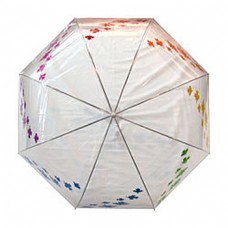 Clear Maple Leaves Umbrella