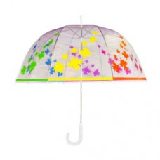 Rainbow Leafs Dome Umbrella