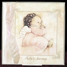 Angel Baby - Baby Journey Book with Swarovski Crystals