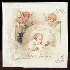 Terra Traditions Baby Memory Book - Baby And Cherubs