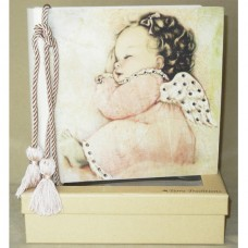 Angel Baby Pink - Photo Album with Swarovski Crystals