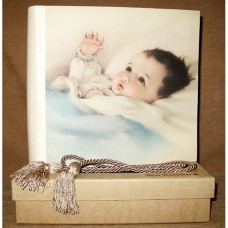 Baby Content Boy - Terra Photo Album with Swarovski Crystals