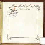 Happy Birthday Baby - Inside page