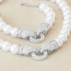 Snow White Pearl Jewel Set