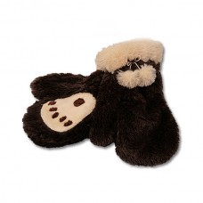 Bear Paw Mitts Brown