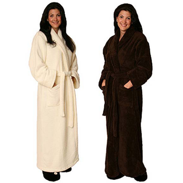 Unisex ultra soft Spa Robe by Warm Buddy