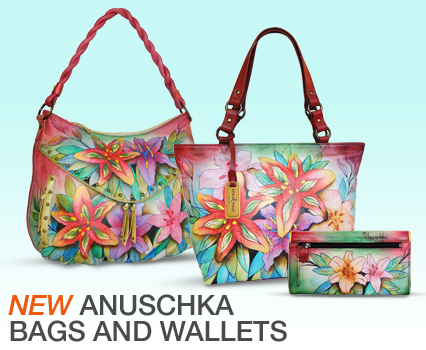 Shop Anuschka Handbags and Wallets and More!