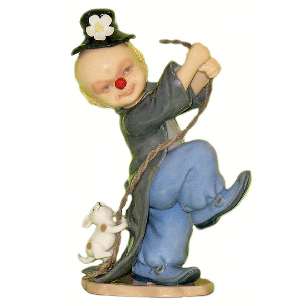 Figurines - Magic Clown with Rope