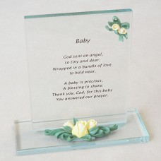 Baby Keepsakes - God sent an angel