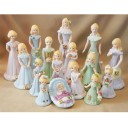 Growing Up Girls - Birthday Figurines 0-16 Blonde