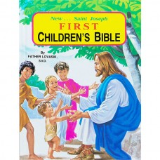 First Communion St. Joseph Illustrated Children Bible