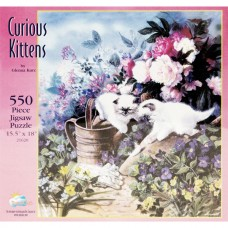 Children Accessories - Puzzle Game - Curious Kittens