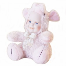Porcelain Face Doll - Pink Piggy