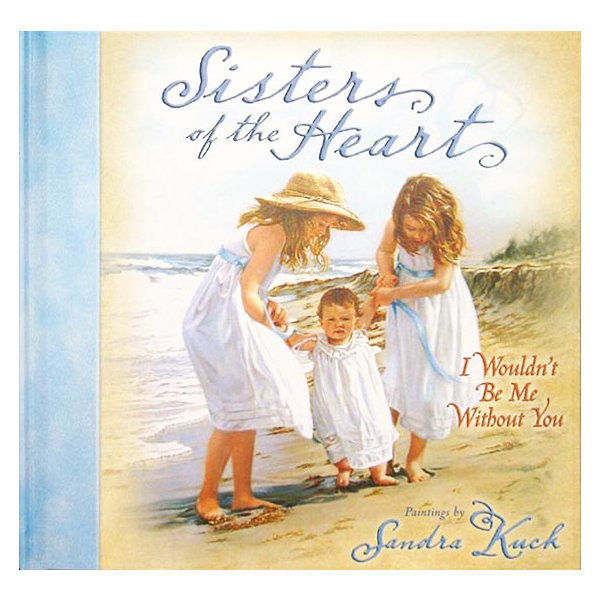 Book with Sandra Kuck's paintings - Sisters of the Heart