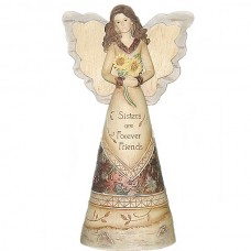Sisters are Forever friends Angel Figurine