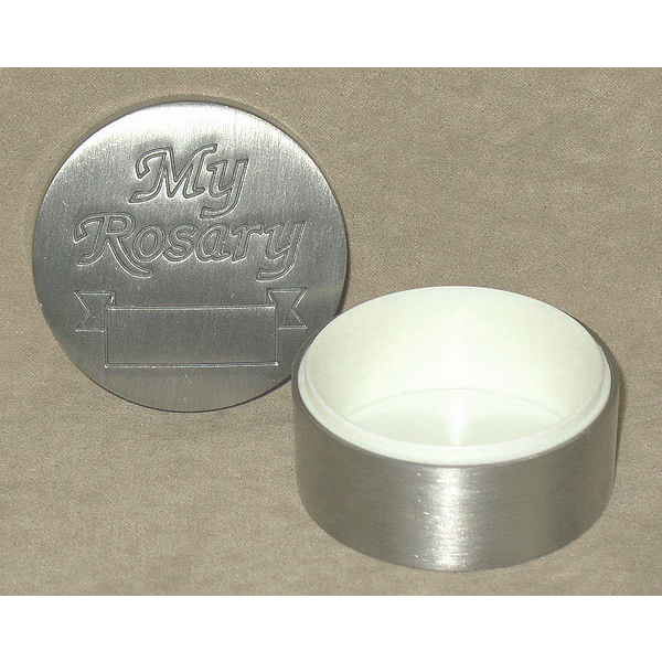 Pewter My Rosary Box