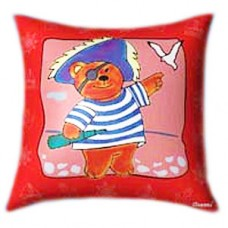 Pirate Teddy Glow In The Dark Pillow