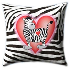 Love In Black And White Glow In The Dark Pillow