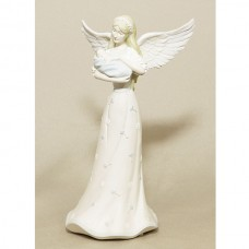 Angel Baby Blue Figurine
