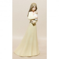 Mother With Baby Figurine