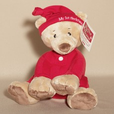 First Christmas Bear Plush Musical