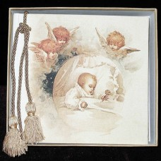 Baby And Cherubs Terra Traditions Photo Album