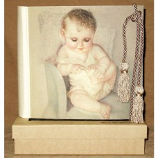 This Little Piggy Baby Photo Album with Swarovski Crystals