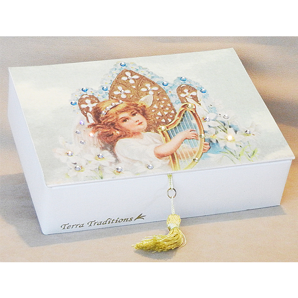 Baptism Terra Traditions Keepsake Box
