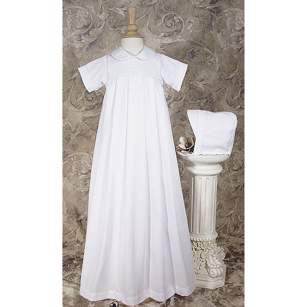 6 Month Poly cotton Baptism Gown