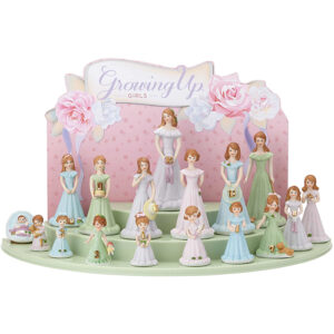 Growing Up Girls - Birthday Collection age 0-16 - Brunette
