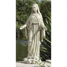 "24"" Our Lady Of Grace Garden Statue"