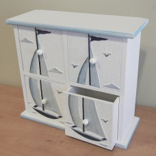 Sailboat Mini Cabinet