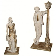 Couple Statue-Ceramic Made in Canada