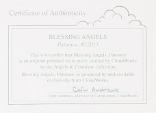 Blessing Angels Figurine - Patience
