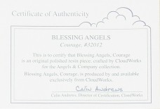 Blessing Angels Figurine - Courage