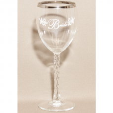 Bride Wedding Wine Glass - Bridal party glasses