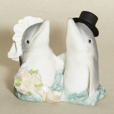Wedding Cake Top - Dolphin Couple - Ocean team