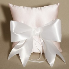 Wedding Ring Bearer Pillow - Pink Pastel