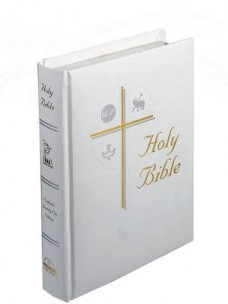 Catholic New American Family Life Edition Bible - White