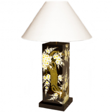 Flowering Tree Laquer Lamp